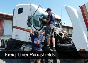 Windshield replacement for semi trucks and freightliners